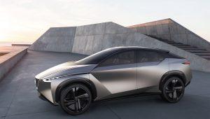 Nissan IMx KURO electric concept vehicle