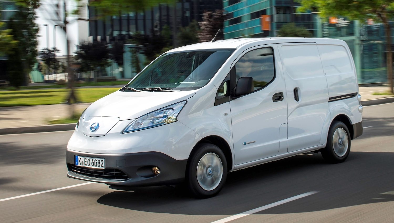 New Nissan e-NV200 40kWh van