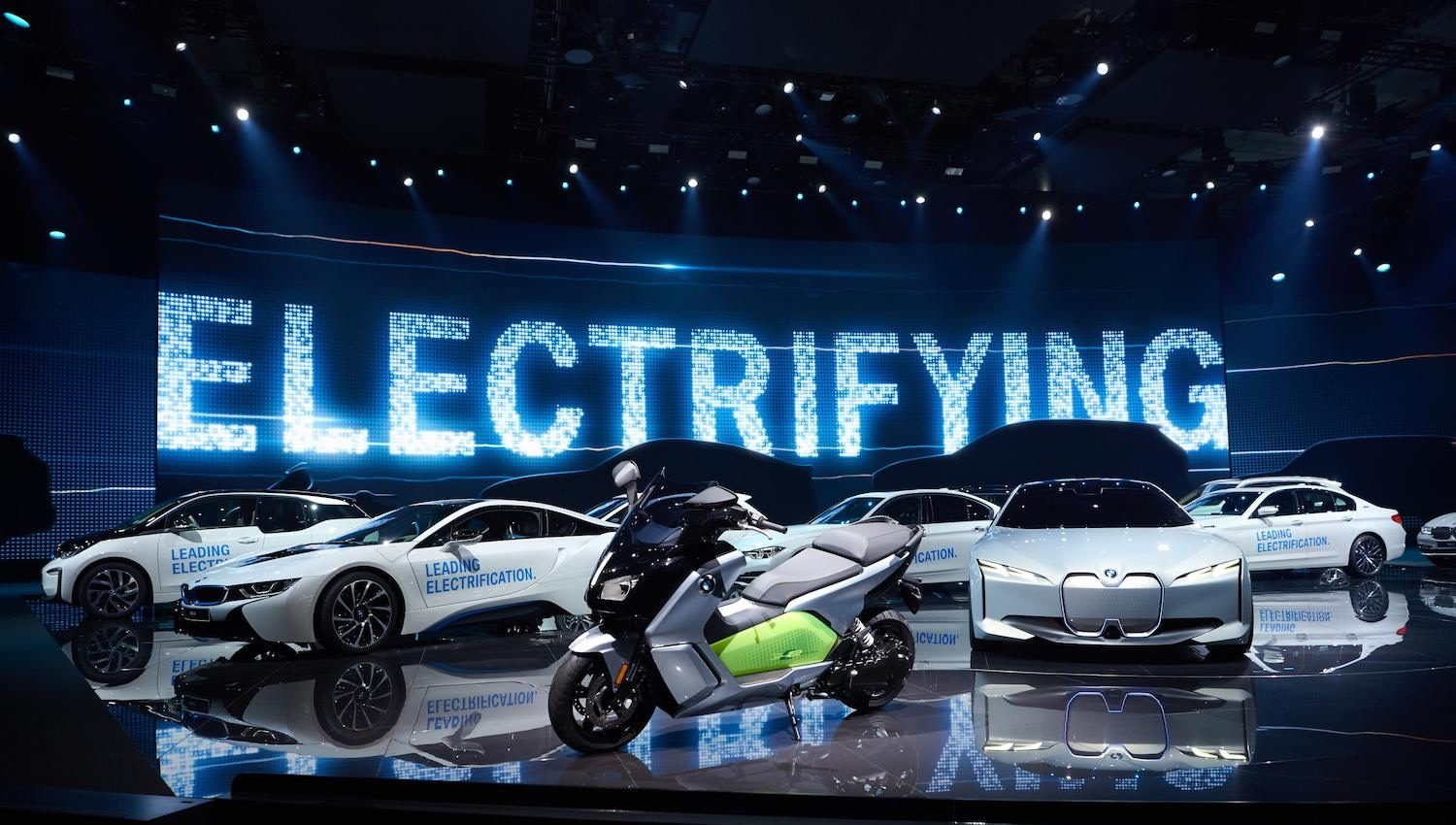 BMW electric range