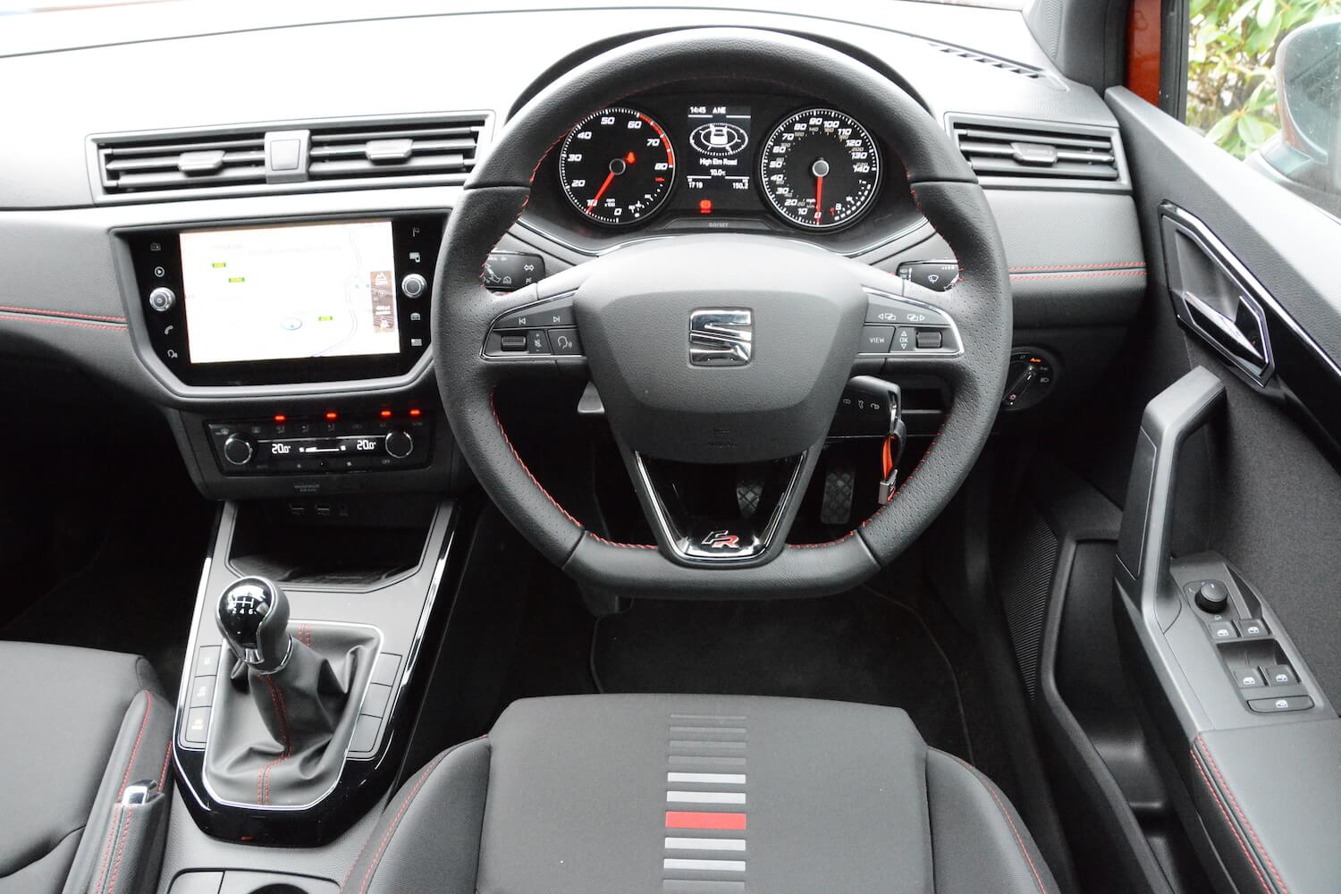 seat arona fr 1 0 tsi 115ps review. Black Bedroom Furniture Sets. Home Design Ideas