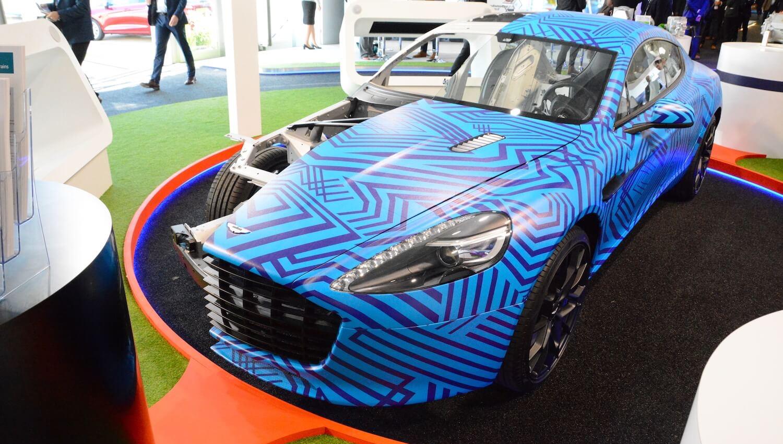 Electric Aston Martin Rapide E Greencarguide Co Uk