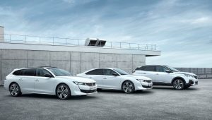 Peugeot Plug-in Hybrid petrol engines