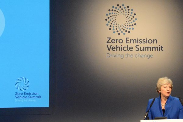 ZEV Summit Prime Minister Theresa May