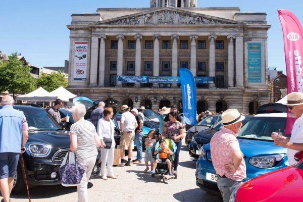 Green GB Week Electric Vehicle Roadshow comes to Nottingham