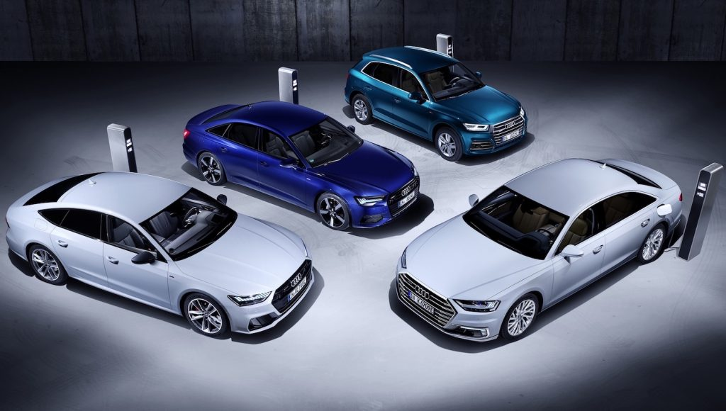 Audi TFSI e models Geneva 2019