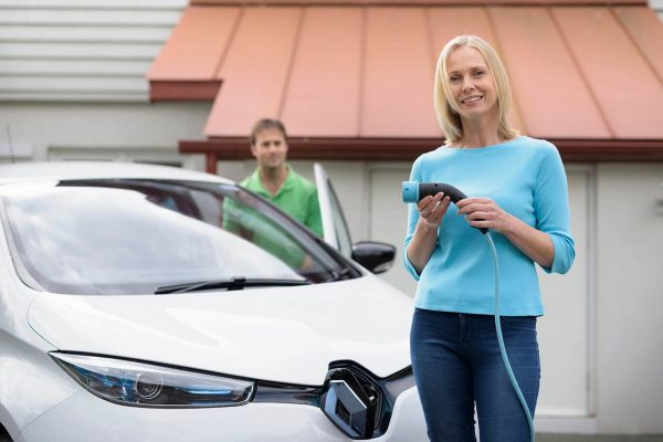 Electric Nation Renault ZOE charging