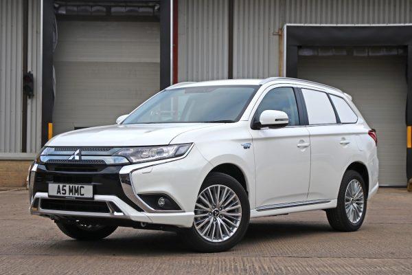 Mitsubishi Outlander PHEV Commercial Vehicle