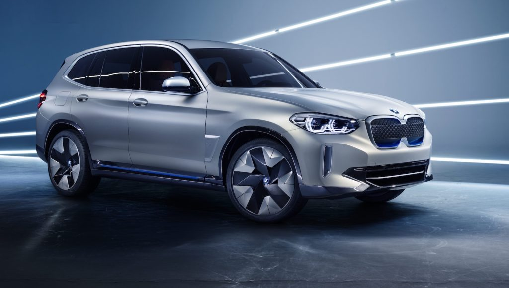 BMW electric car iX3