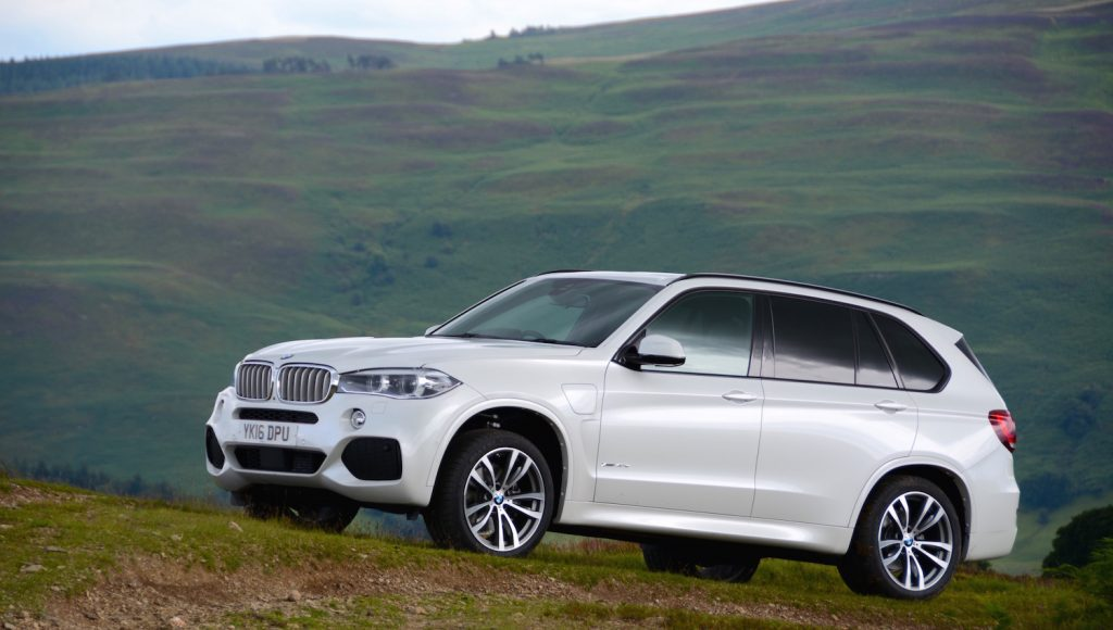 BMW electric car X5