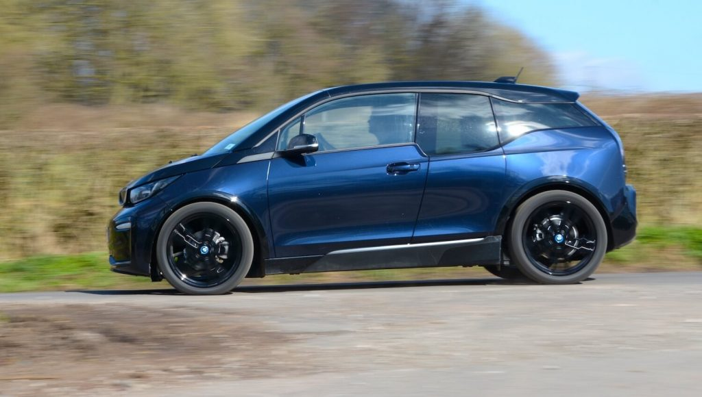 BMW electric car i3