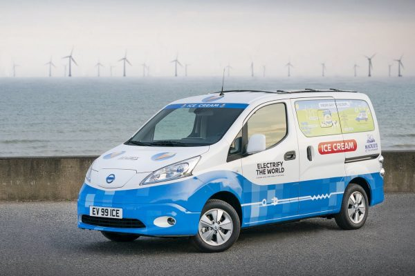 Nissan e-NV200 ice cream van concept