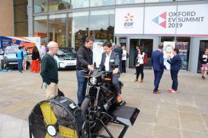 Oxford EV Summit 2019 Electric Motorbike