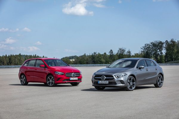 Mercedes-Benz A-Class and B-Class Plug-in Hybrids