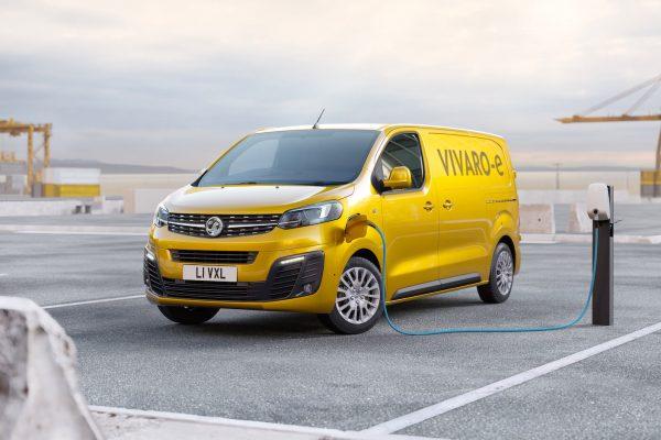 Vauxhall Vivaro-e electric van