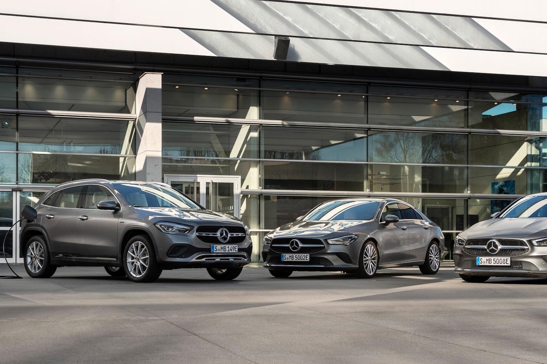 Mercedes-Benz CLA 250 e Coupé, CLA 250 e Shooting Brake and GLA 250 e Plug-in Hybrids