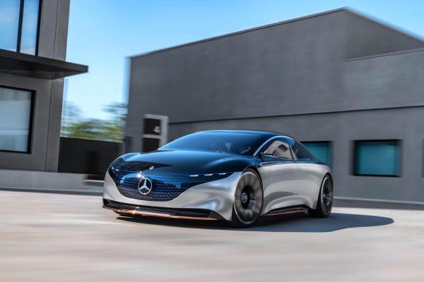Mercedes-Benz Vision EQS concept car