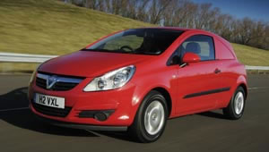 The new Vauxhall Corsavan ecoFLEX has a reduction in CO2 and a 12 per cent improvement in combined mpg.