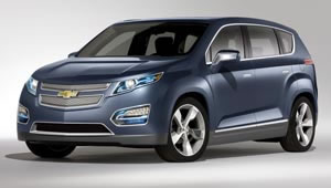 The Chevrolet Volt MPV5 electric car