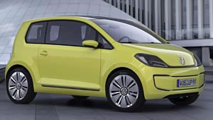 Volkswagen E-Up! electric car concept