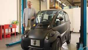 Gordon Murray and his T25 eco car