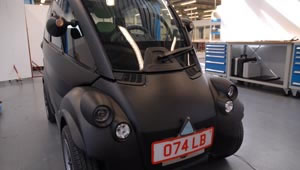 Front view of the T25 city car