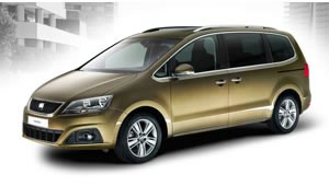 SEAT Alhambra people carrier promises the lowest CO2 emissions in the MPV segment