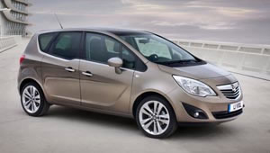 The new Vauxhall Meriva has an improvement in fuel economy of 15 per cent