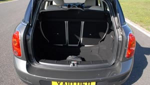 Boot space on the Mini Countryman