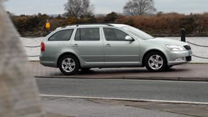 Skoda Octavia Estate in silver