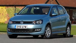 The Volkswagen Polo BlueMotion on its Green Car guide road test
