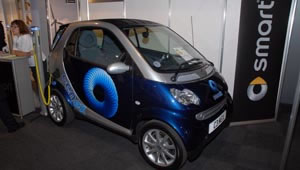 Smart fortwo electric at Detroit Motor Show
