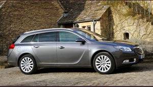 The Vauxhall Insignia Sports Tourer is now available as an ecoFLEX version