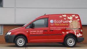Caddy EcoFuel Van