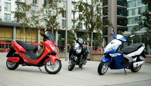 e-motive electric scooters