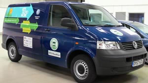 Volkswagen Transporter van returns 52mpg in economy marathon
