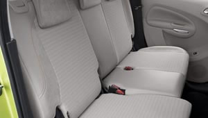 Back seats of the C3 Picasso