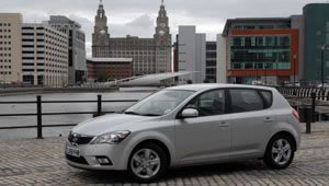Kia cee'd with ISG - Intelligent Stop and Go