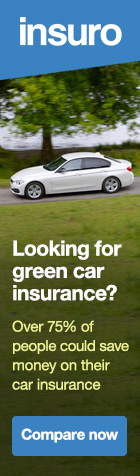 Looking for green car insurance? Compare now.