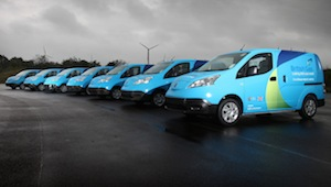 British Gas tests all-electric Nissan e-NV200 vans