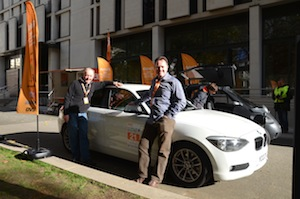 BMW 116d EfficientDynamics in the RAC Future Car Challenge 2012