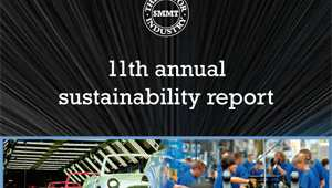 The Society of Motor Manufacturers and Traders' eleventh annual sustainability report