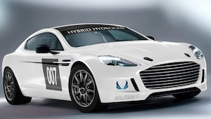 Aston Martin Hybrid Hydrogen Rapide S to race at the N
