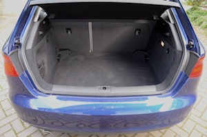 Audi A3 Luggage Space