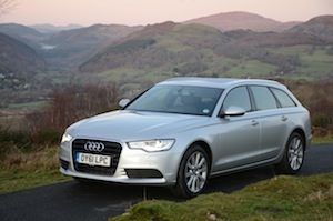 Audi A6 Avant 2.0 TDI Road test - off road