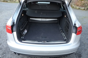 Audi A6 Avant Luggage Space