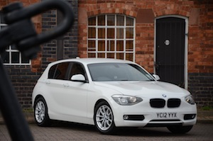 Image of the BMW 116d EfficientDynamics