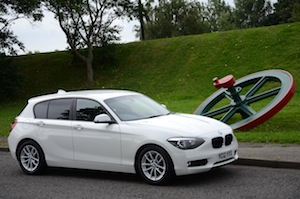 BMW 116d EfficientDynamics Driving Experience