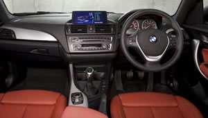 BMW Series 1 dashboard