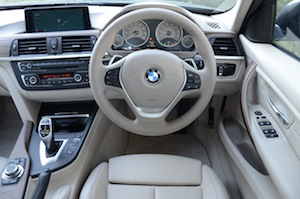 BMW 328i dashboard