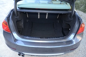 BMW 328i Luggage Space
